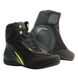 Motorshoe D1 D-WP Black:FluoYellow:Anthracite