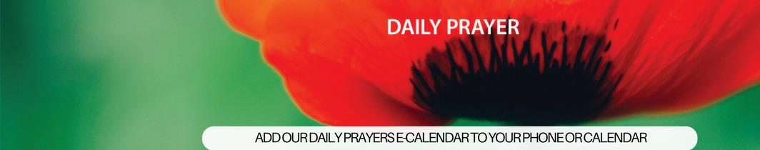 Daily prayer e-calendat