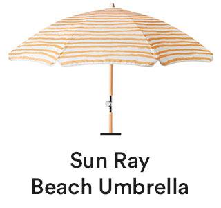 Sun Ray Beach Umbrella