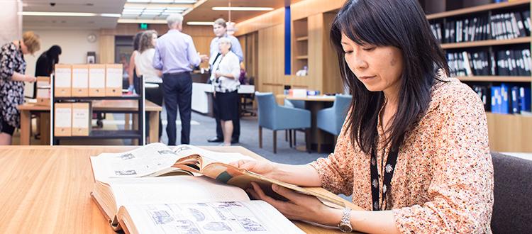 National Library of Australia Asia Study Grants