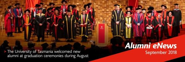 Alumni eNews September 2018