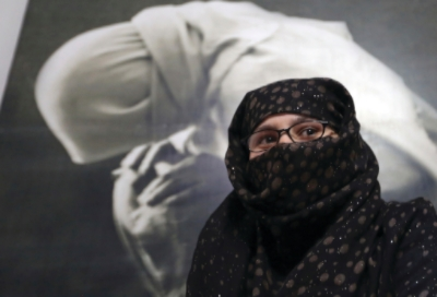 Woman at HAWCA safe house, Kabul, Afghanistan