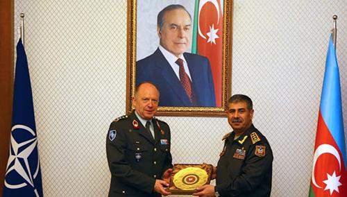 25 years of NATO - Azerbaijan partnership: Director General of NATO's International Military Staff visits Azerbaijan