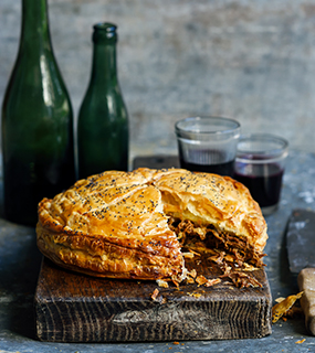 Sarah Tuck's Pulled Lamb Pie