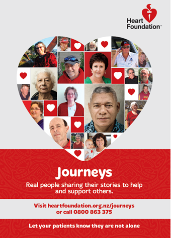 Promotional poster for Journeys programme.