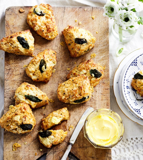 Tea and scones