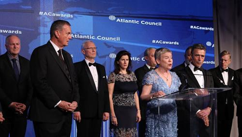 Atlantic Council honours NATO with Distinguished Leadership Award