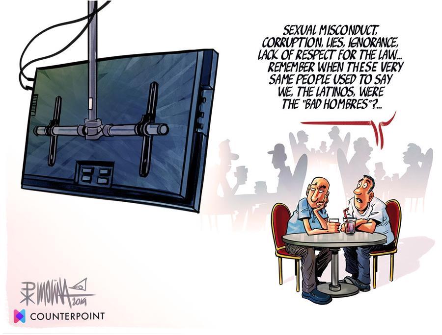 Cartoon byKevin KAL Kallaugherfor Counterpoint