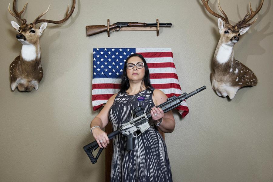 Laura Diaz of San Antonio, Texas.