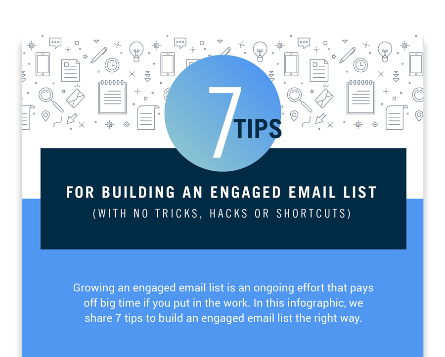 7 tips for an engaged email list