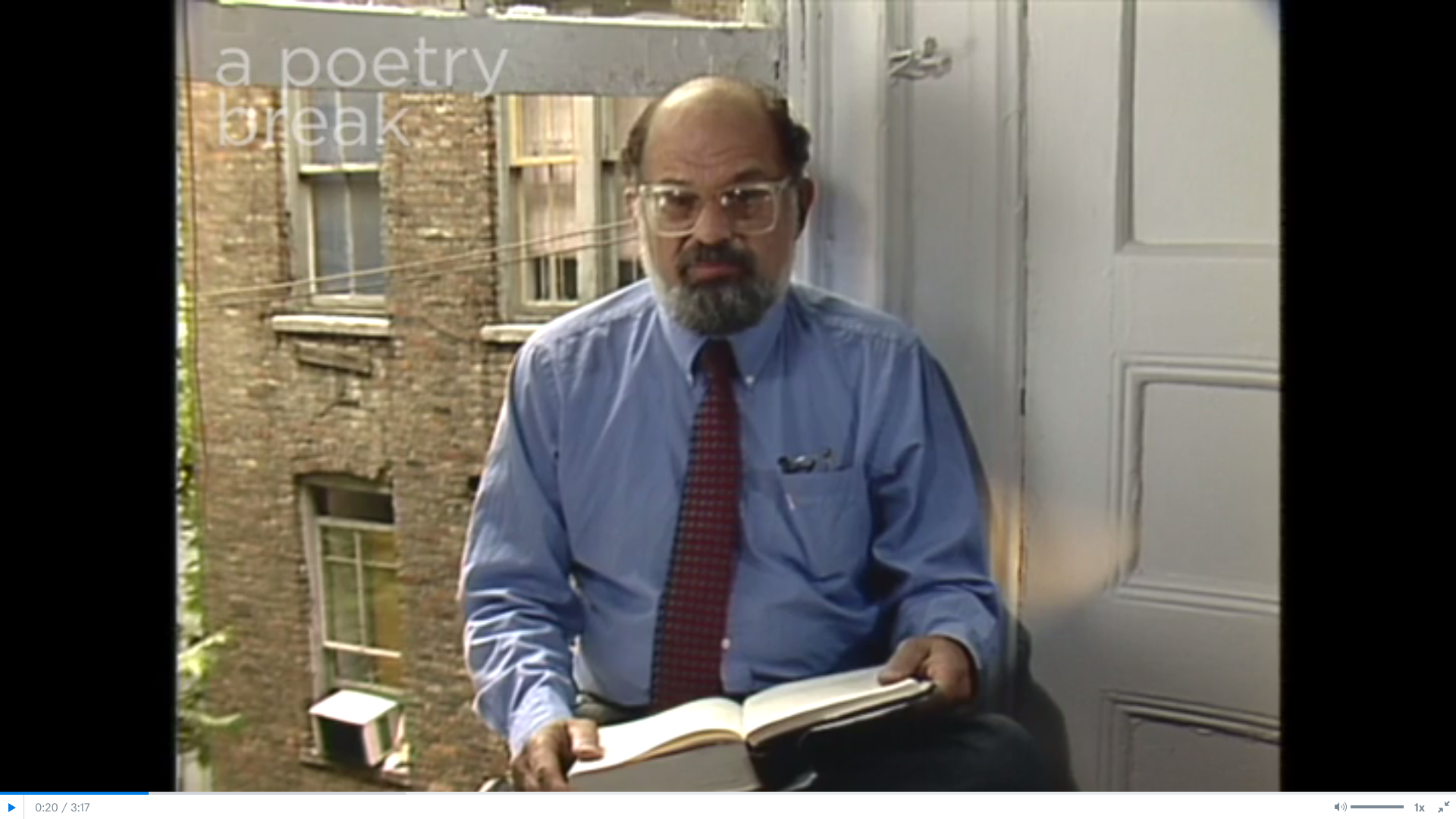 Poetry Breaks: Allen Ginsberg