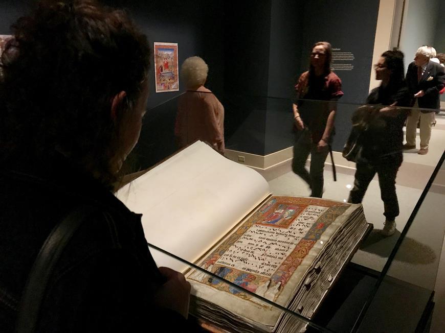 Het handschrift van Salzinnes tentoongesteld in Halifax
