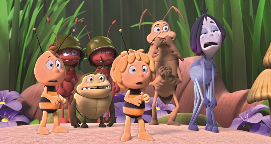 La abeja Maya, los Juegos de la Miel, el 9 de febrero en cines