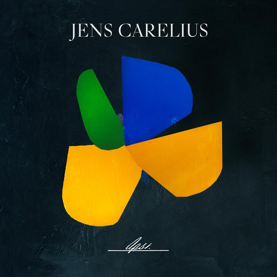 "Jens Carelius ""Opsi"" album artwork"
