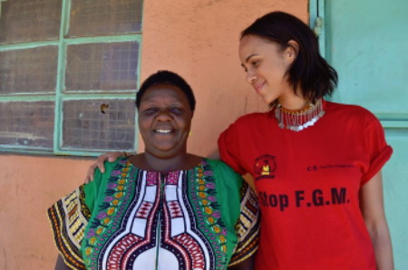 Agnes Pareyio and Zawe Ashton, (c) Comic Relief