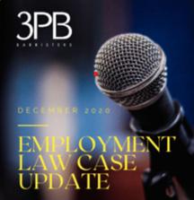 December's employment case law update