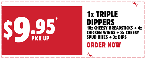 Triple Dippers for $9.95 Pick up